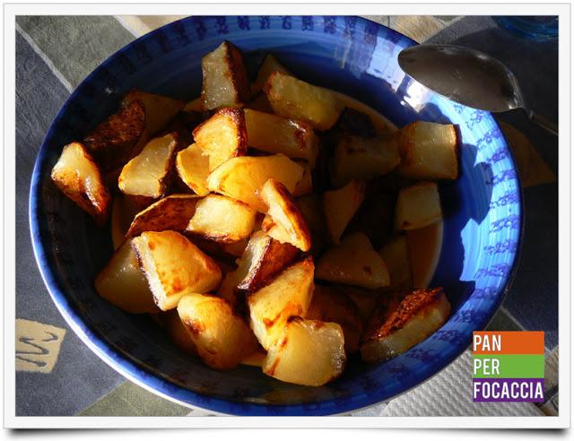 Un post al volo e patate al forno