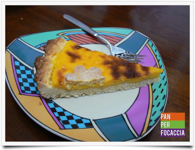 Crostata con crema cotta