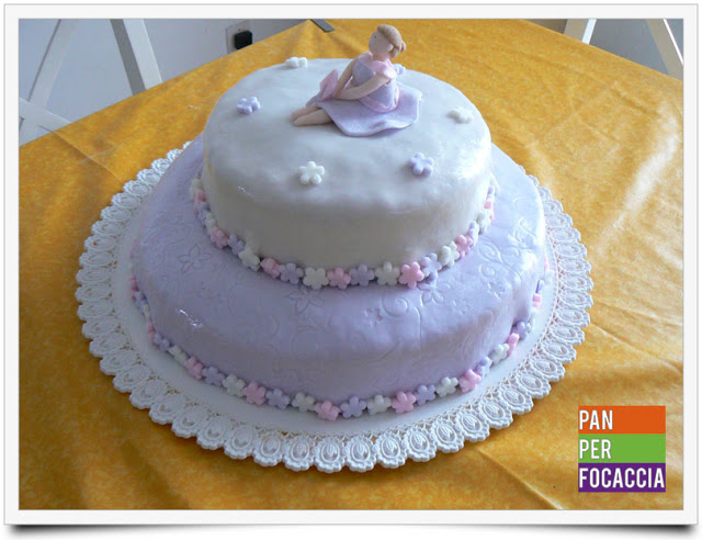 Una torta romantica tutta per me