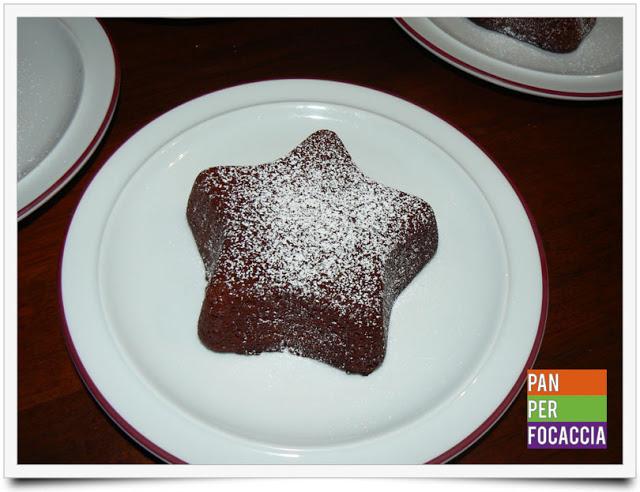 Tortini al cioccolato e lampone