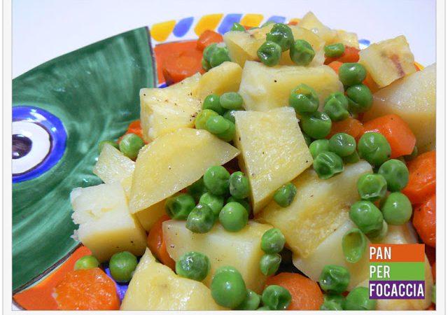 Tris di verdure profumate