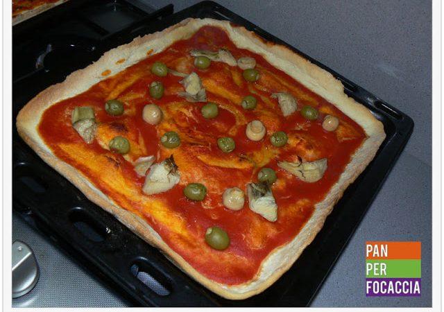 La pizza sottile di Roberto