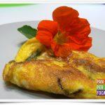 Omelette ai nasturzi
