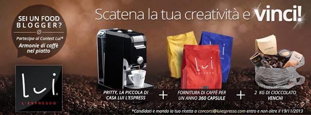 Nuovo contest: Armonie di caffè nel piatto