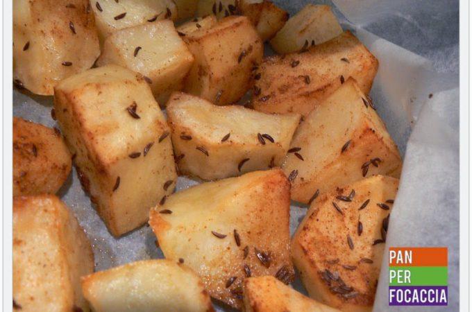 Patate con paprika e cumino