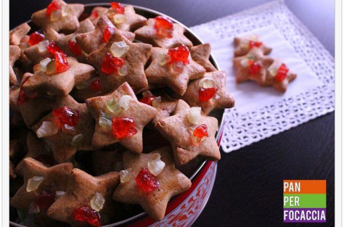 Biscotti stelle natalizie