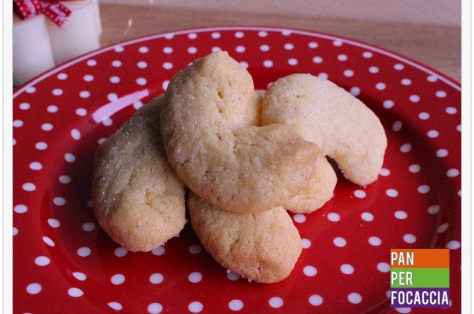 Vanillekipferl: cornetti alla vaniglia