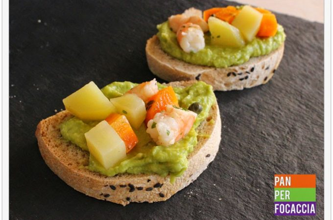 Insalata russa all'avocado