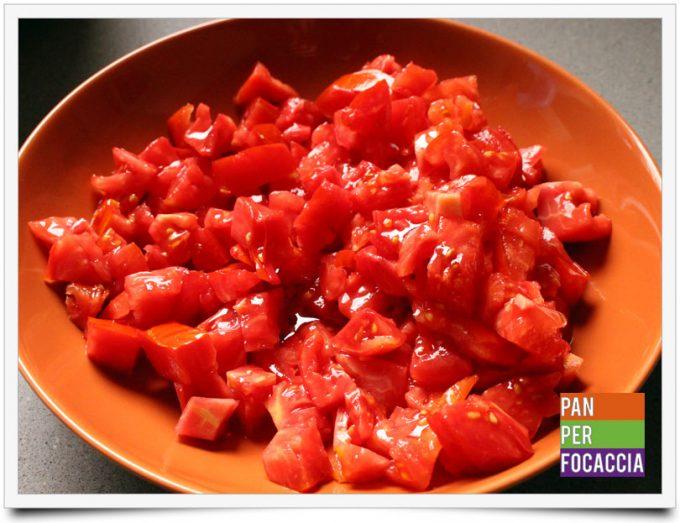 Friselle con mortadella pomodori e rucola 3