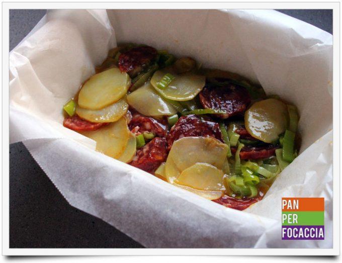 Tortino di patate e salamino piccante 4