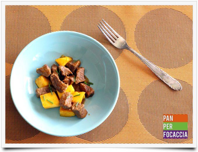 Spezzatino di manzo al mango 6