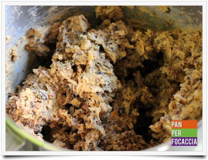 Biscotti croccanti con corn flakes frutta fresca e cioccolato 4