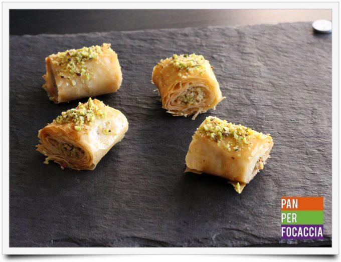 Baklava con pistacchi e noci