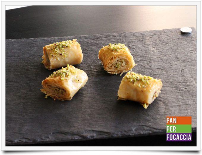 Baklava con pistacchi e noci 4