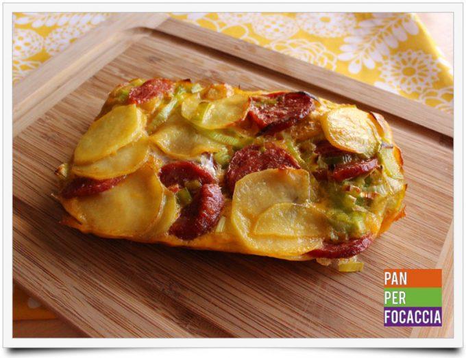Tortino di patate e salamino piccante 1