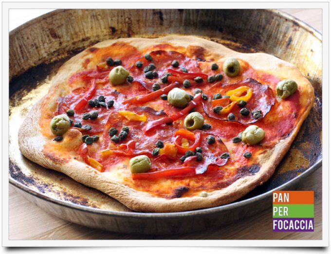 Pizza impastata a mano 10