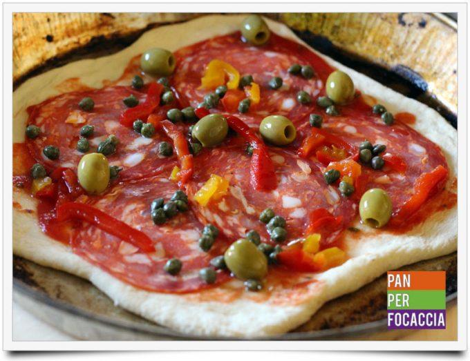 Pizza impastata a mano 8