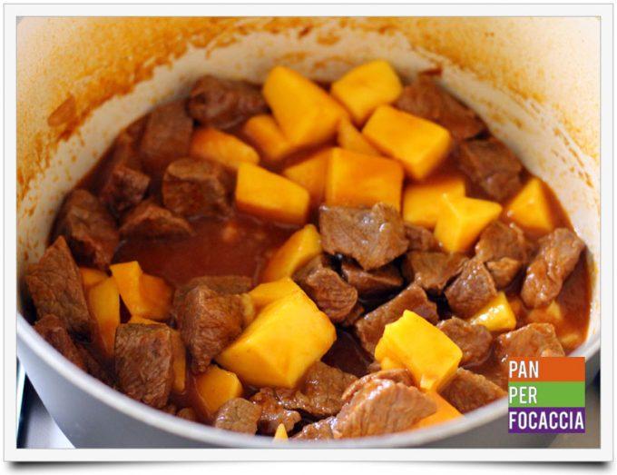 Spezzatino di manzo al mango 5
