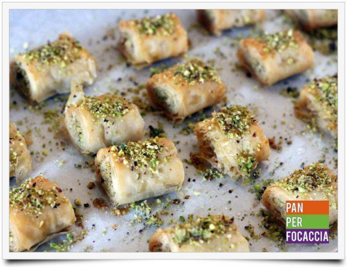 Baklava con pistacchi e noci 3