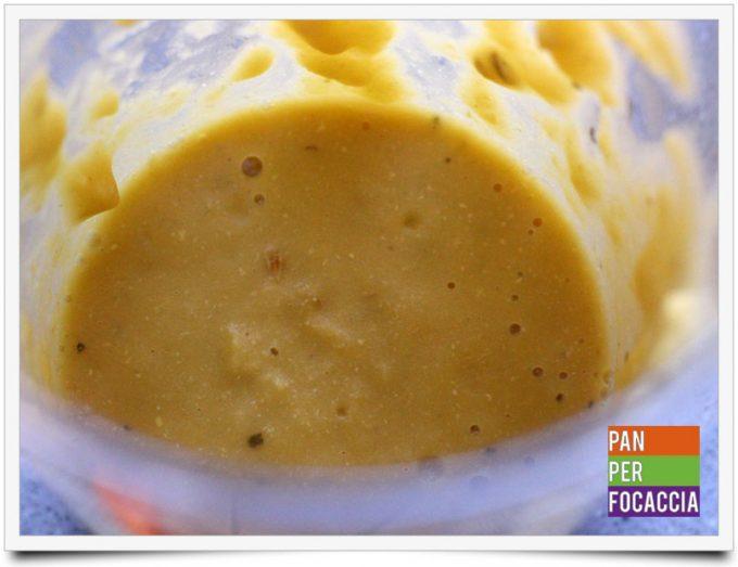 Crema di lenticchie con topinambur 2