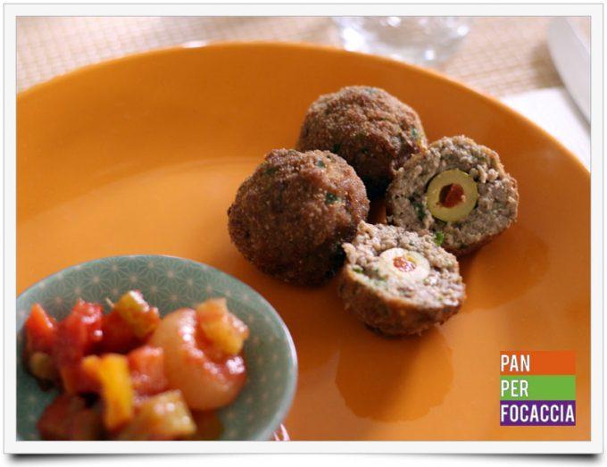 Polpette di carne con olive 1