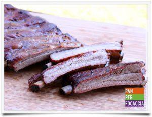 Costine di maiale succose al barbecue
